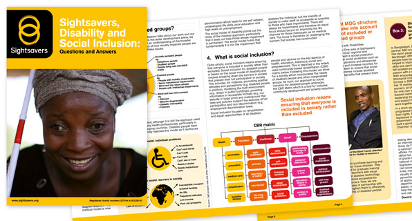 Sightsavers Brochure